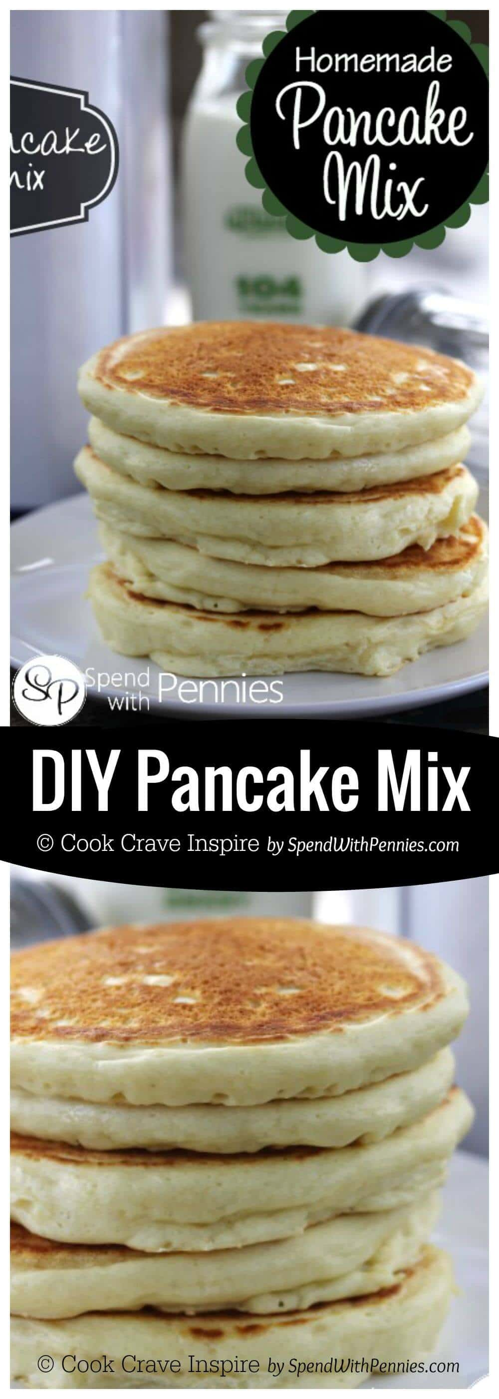 how to make one pancake with mix