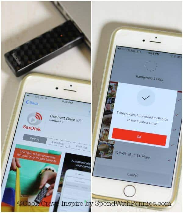 Sandisk iPhone Installation