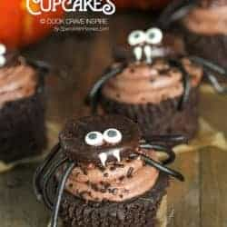 How to Make Spider Halloween Cupcake Toppers