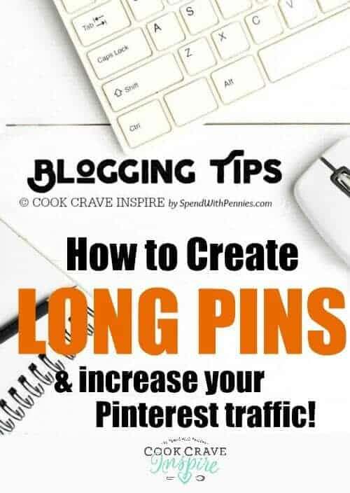 If you're looking to increase Pinterest traffic to your blog, creating long should be at the top of your list! This is an easy to follow step-by-step tutorial!