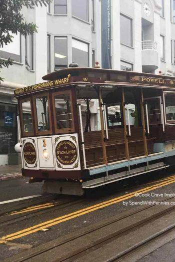 a san francisco trolley