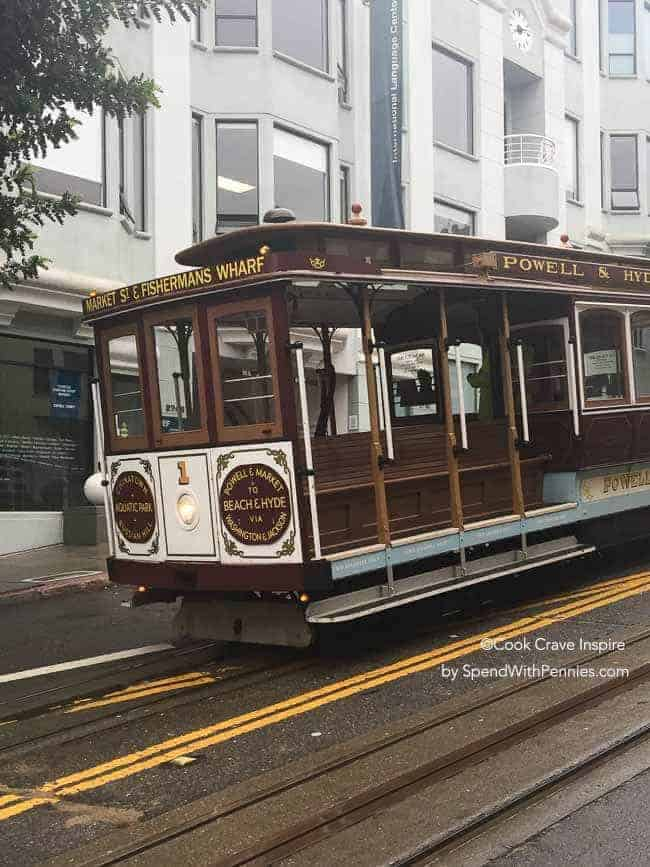 a san francisco trolley
