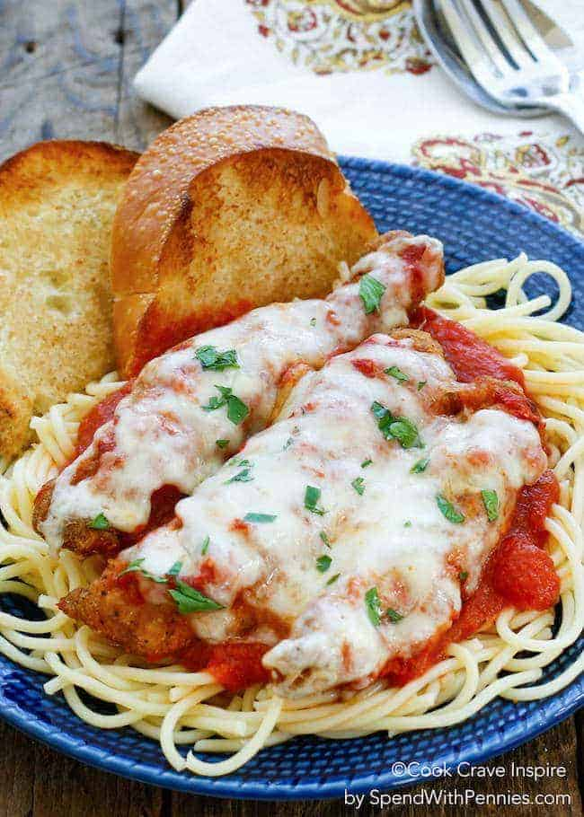 Easy Chicken Parmesan Spend With Pennies