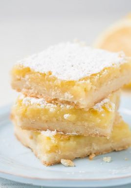 These Lemon Bars are a refreshing, sweet, and slightly tart treat made up of a lemony custard filling on top of a buttery shortbread crust.