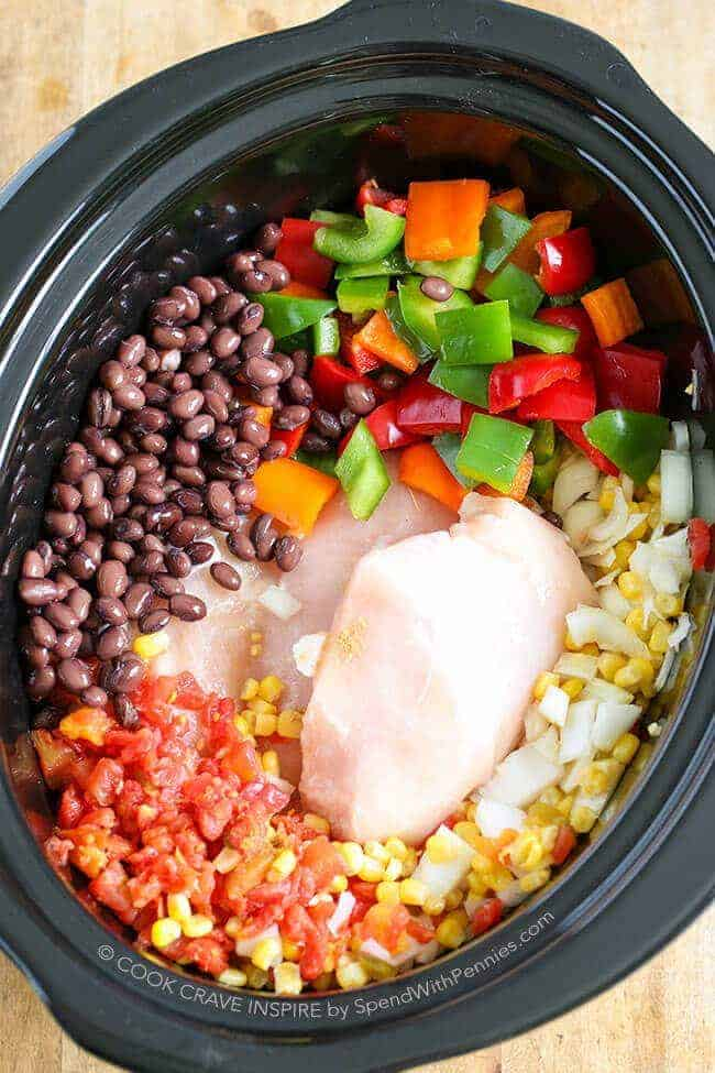 chili slow cooker cooker chicken chili hearty amp healthy spend with 30927