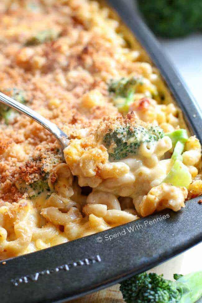 Broccoli Cheese Casserole with Ham-22