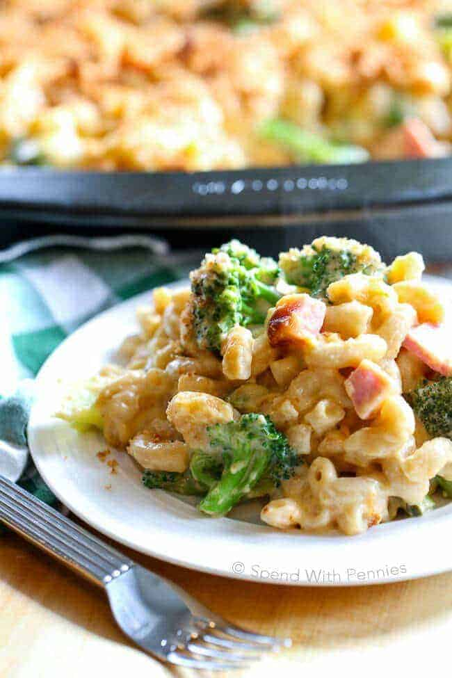 Broccoli Cheese Casserole With Ham Spend With Pennies