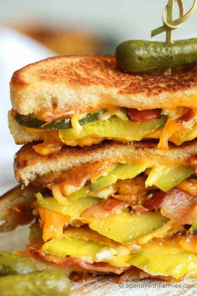 Grilled Cheese. This is the best sandwich ever with loads of crispy ...