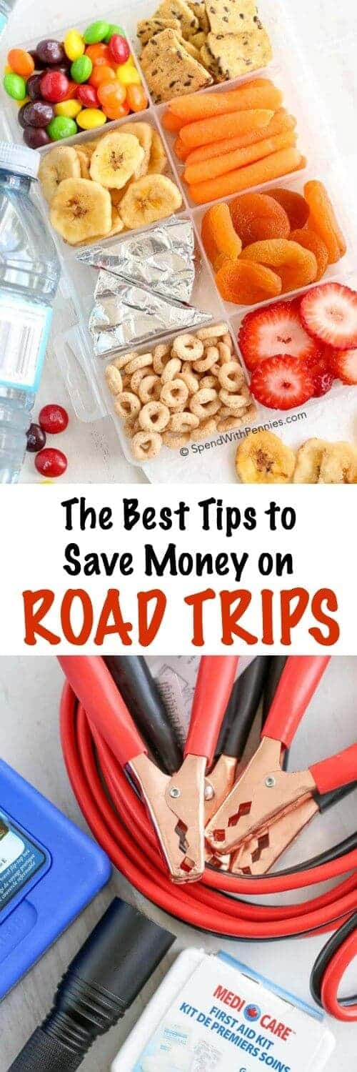 The Best Tip to Save Money on Road Trips with a title