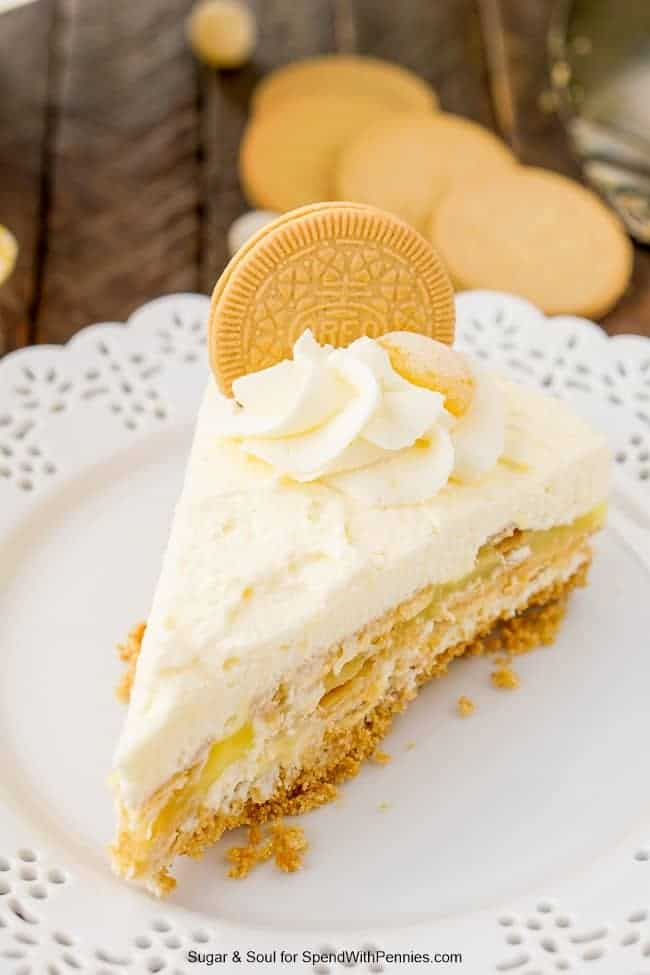 Lemon Oreo Icebox Cake Spend With Pennies