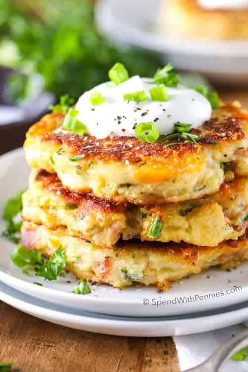 Best Mashed Potato Cakes Recipe