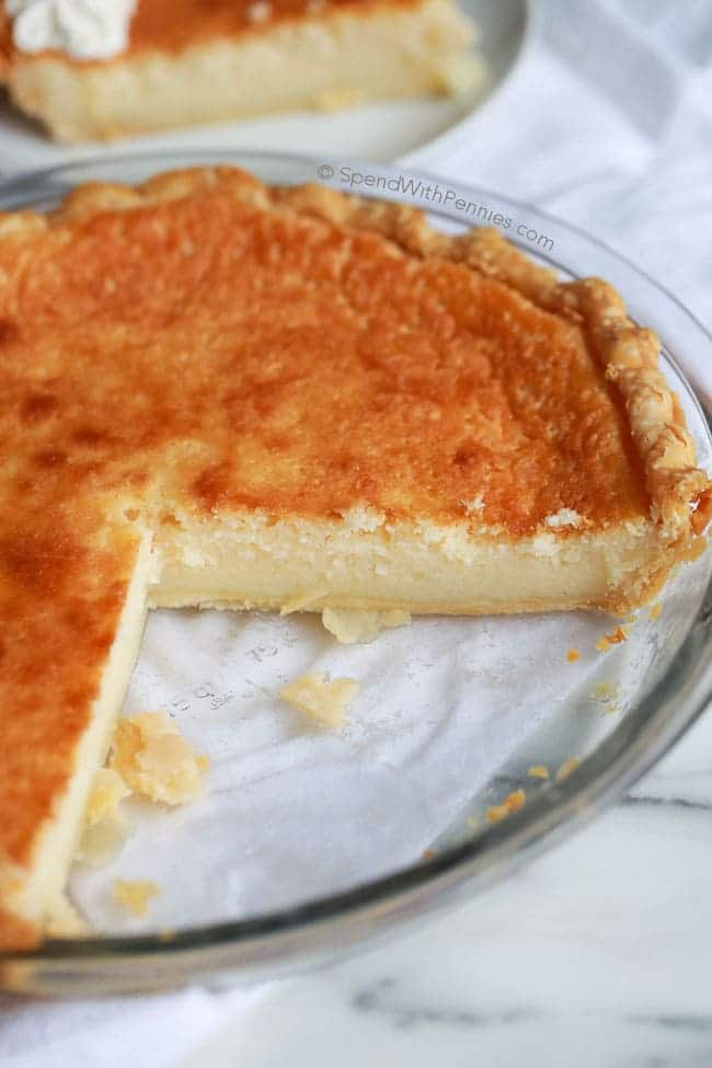 buttermilk pie recipes easy dessert simple custard spendwithpennies pantry ingredients classic chess crust deliciously result desserts egg chocolate slightly topping