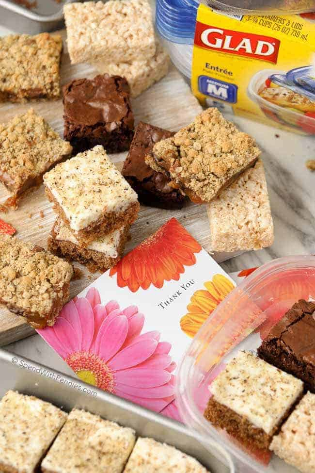If you've never had Oatmeal Carmelitas before, you've been missing out! They're one of my all time favorite bars with a thick buttery oat crust loaded with chocolate and caramel!