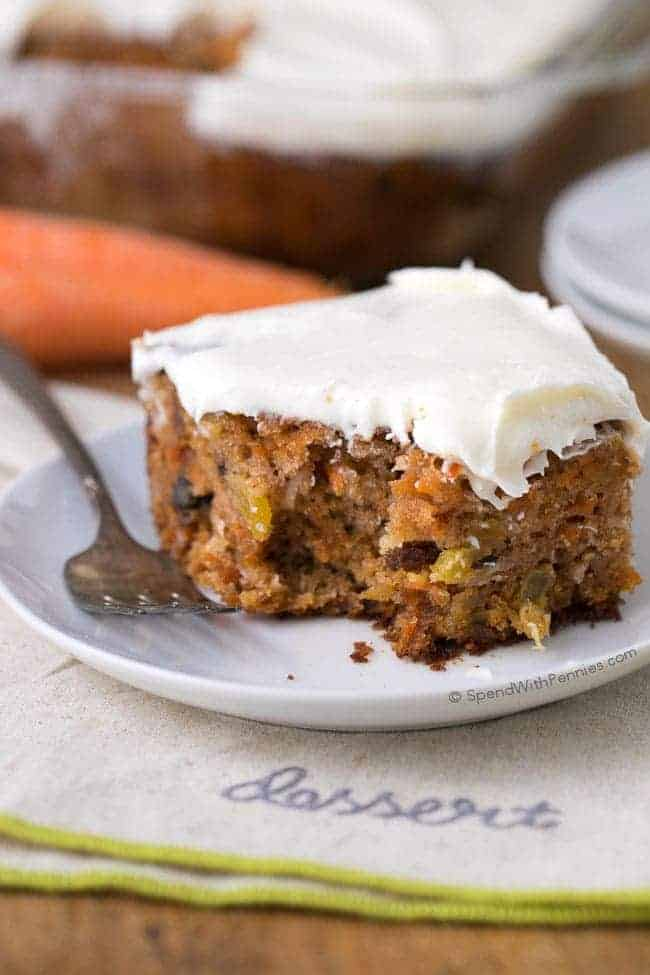 Classic Carrot Cake Recipe With Pineapple