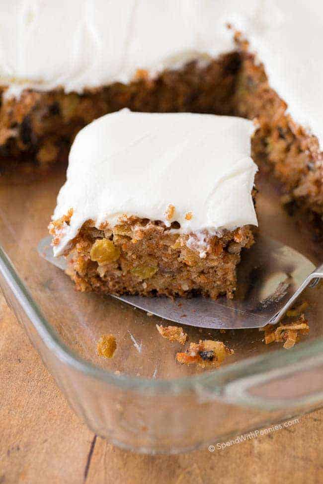 Zucchini Pineapple Cake Recipe