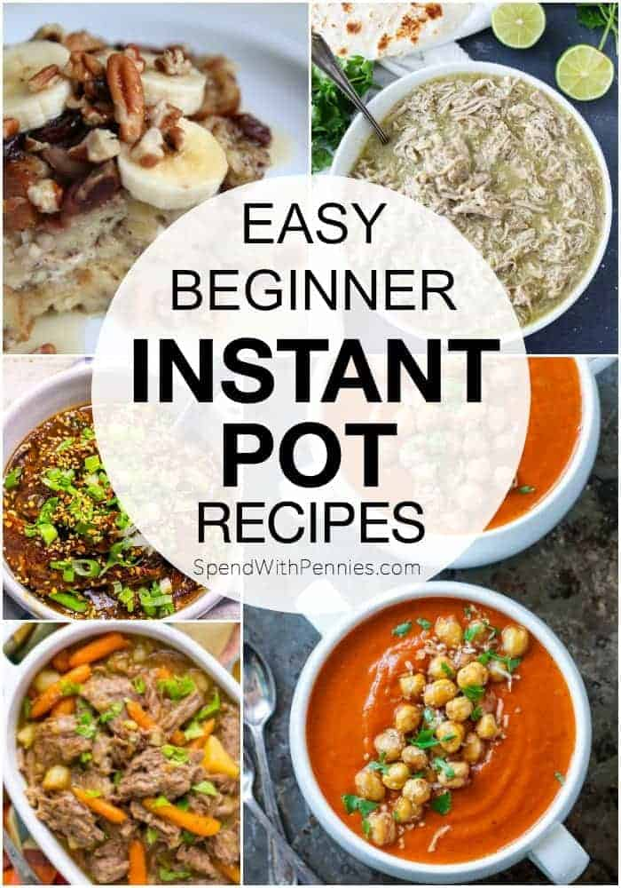 instant pot recipes with a title