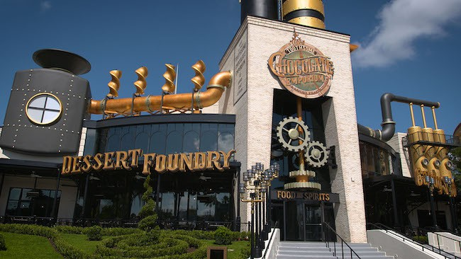 The Toothsome Chocolate Emporium & Savory Feast Kitchen at Universal CityWalk is my personal favorite!