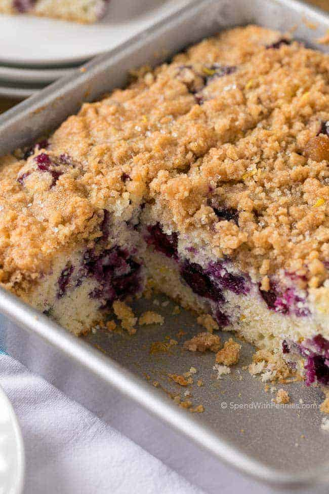 Blueberry Buckle - Spend With Pennies