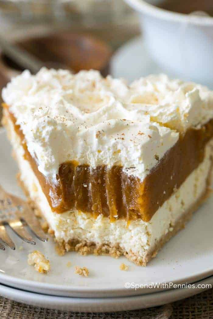 No Bake Pumpkin Cheesecake Easy To Make Spend With Pennies
