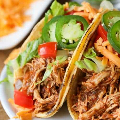 Instant Pot Chicken Tacos Pressure Cooker Spend With Pennies