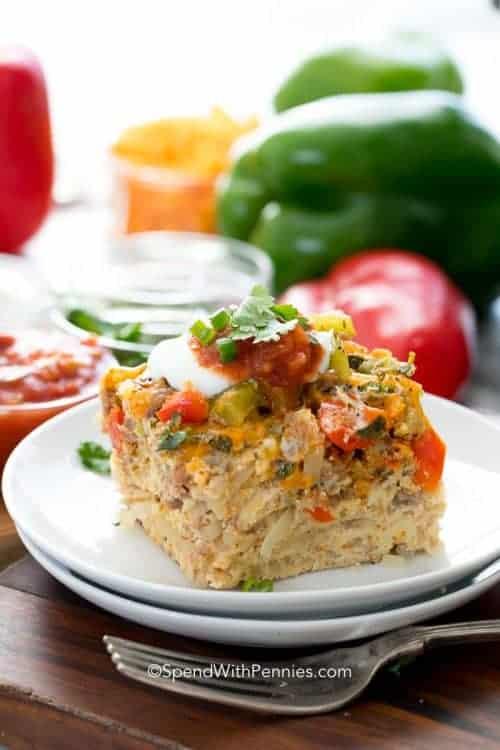 Mexican Slow Cooker Breakfast