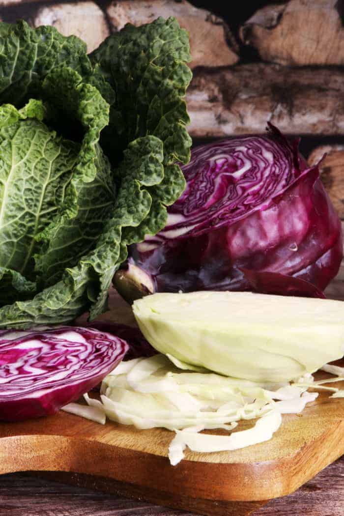 The ultimate guide to cabbage! Be sure to select the right variety of cabbage for your recipe!