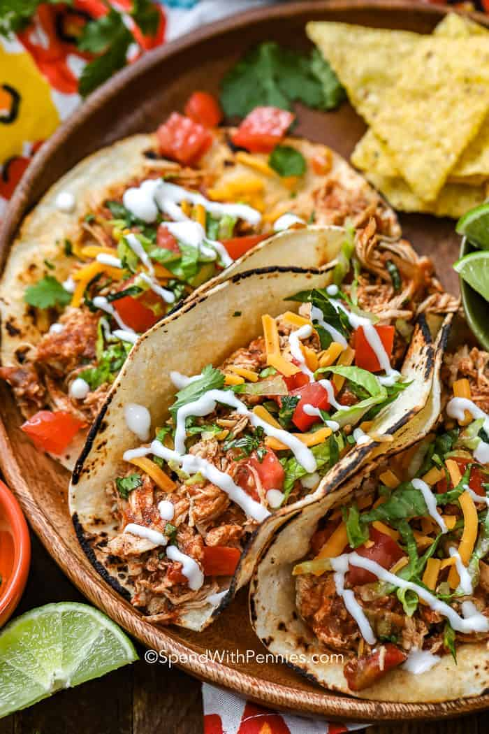 Chicken breast crock pot recipes taco seasoning