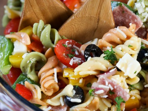 Italian Pasta Salad Spend With Pennies
