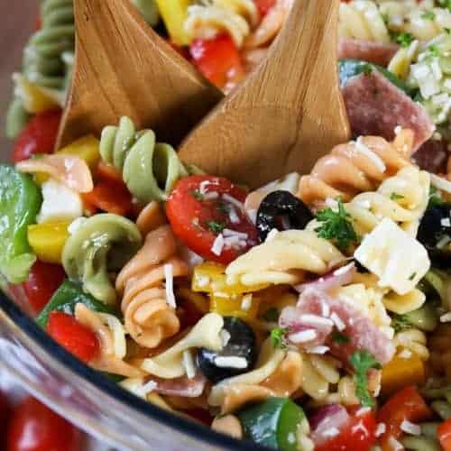 Italian Pasta Salad Spend With Pennies
