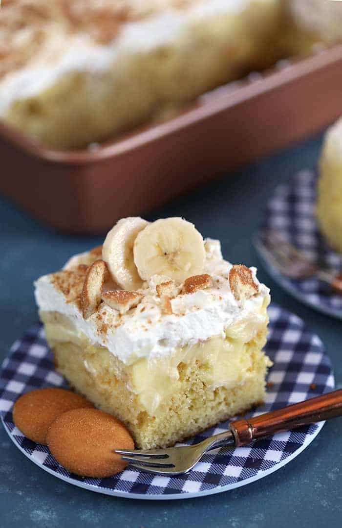 Banana Pudding Cake Spend With Pennies