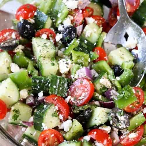 Greek Salad Recipe Easy