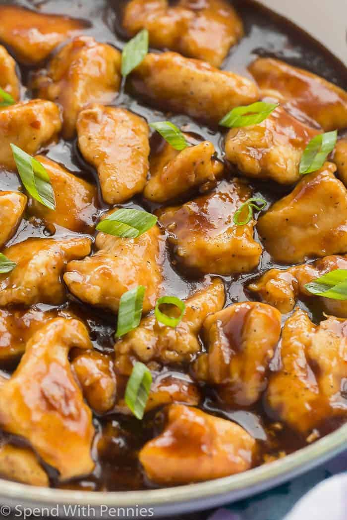 Skillet Orange Chicken Recipe Spend With Pennies