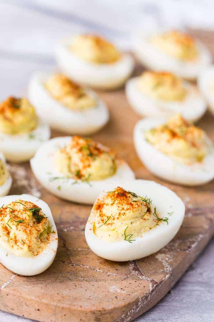 Classic Deviled Eggs Recipe Spend With Pennies,Dwarf Gourami Size