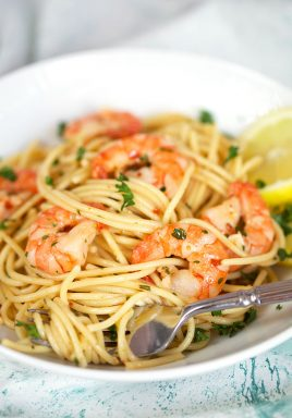 easy shrimp scampi recipe - Olive Garden Bruschetta Recipe