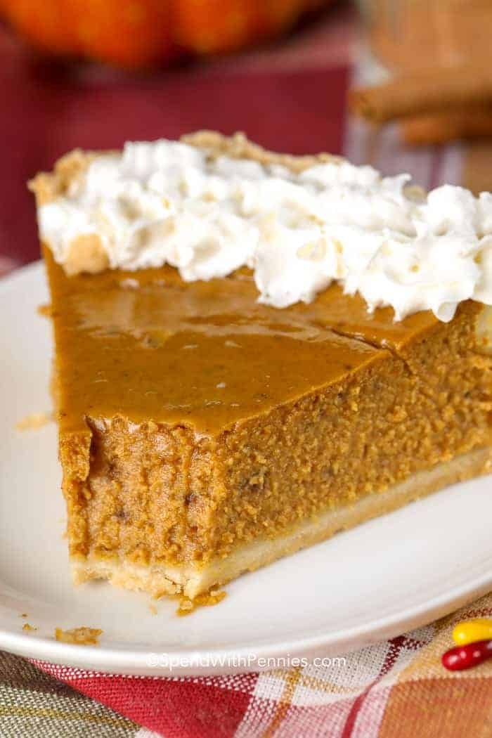 Pumpkin Pie Recipe Perfect Holiday Dessert Spend With