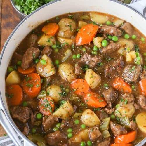 Beef Stew Recipe Homemade Flavorful Spend With Pennies
