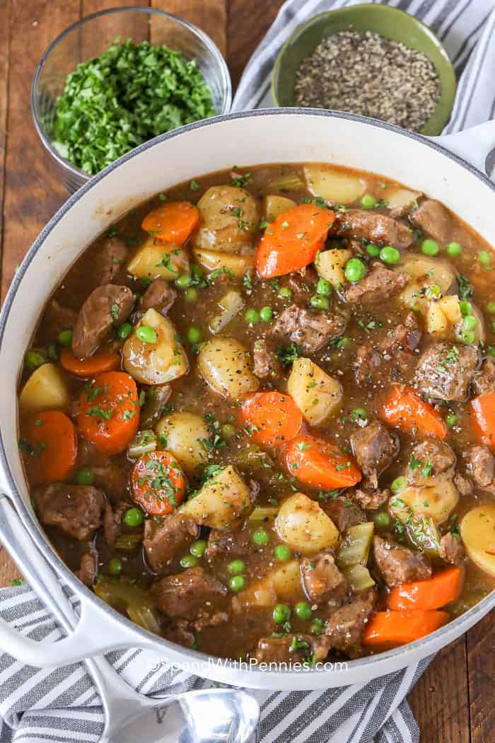 Beef Stew Recipe {Homemade & Flavorful}