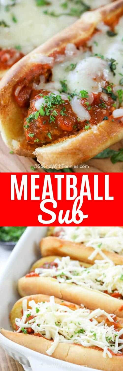 Meatball Sub Spend With Pennies