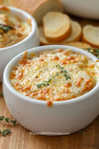 French Onion Soup with onions