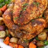 roast chicken with herbs