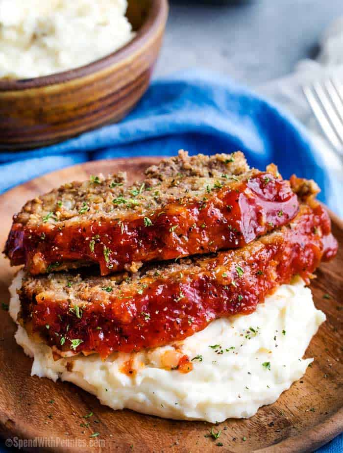 Crockpot Meatloaf Spend With Pennies