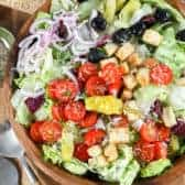 Untossed Italian Salad