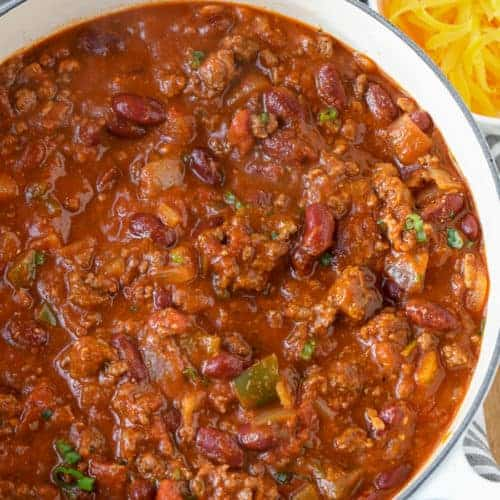 The Best Chili Recipe Easy Recipe Spend With Pennies