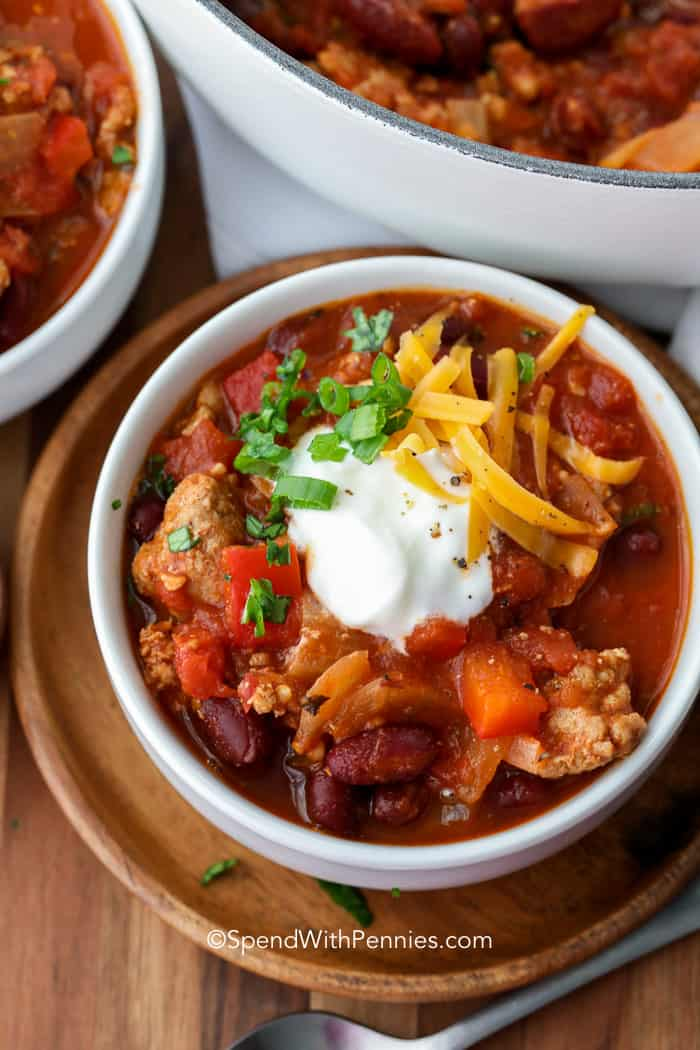 Turkey Chili Spend With Pennies