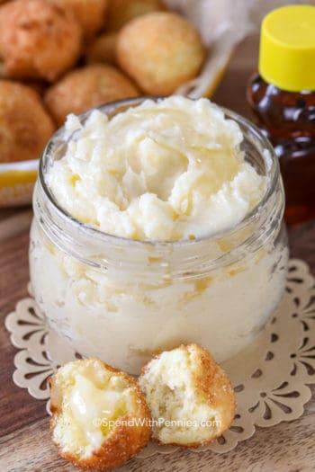 Honey Butter in a jar