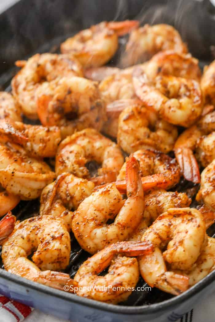 The best seasoned shrimp for making shrimp tacos tacos