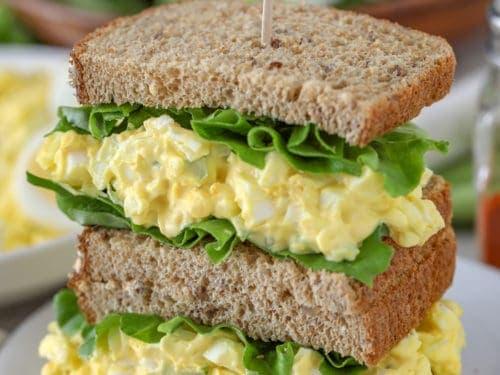 Egg Salad Recipe Mustard