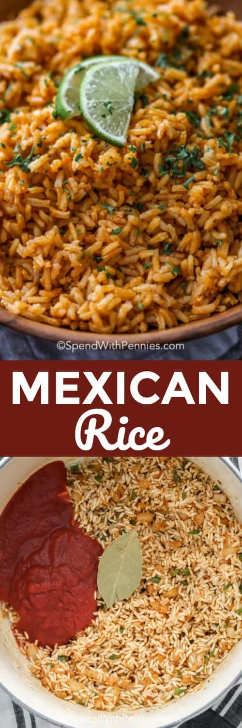 Mexican Rice Spend With Pennies