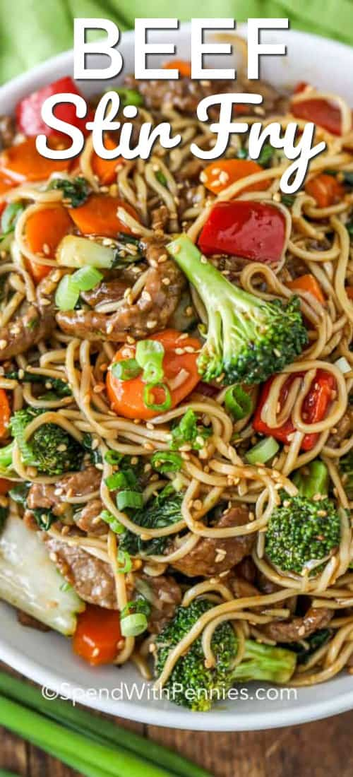 Easy Beef Stir Fry Spend With Pennies