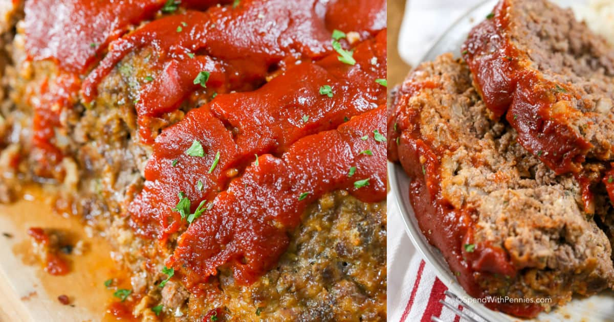 The Best Meatloaf Recipe Spend With Pennies